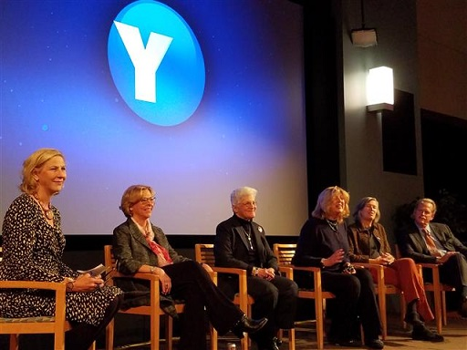 Anne moderates panel discussion at WHYY studio, November 11, 2016