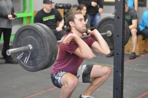 AC John during his first CrossFit competition